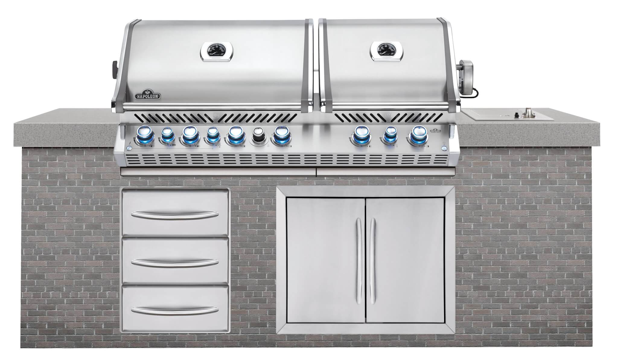 Napoleon Built In Prestige Pro 825 With Infrared Rear