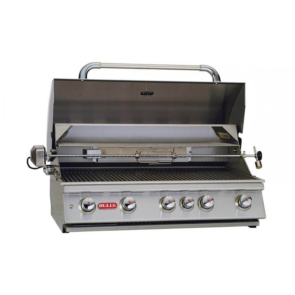 Bull 38 brahma grill with lights bbq grill people - Barbecue a encastrer ...
