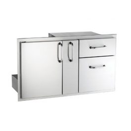 Access Door with Platter Storage & Dobule Drawer (Select)