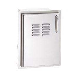 Single Access Door with Tank Tray and Louvers (Select)