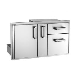 Access Door with Platter Storage & Double Drawer (Premium)