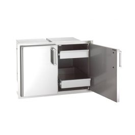 Double Doors with 2 Dual Drawers (Premium)