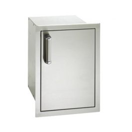 Single Door with Dual Drawer (Flush Mounted)
