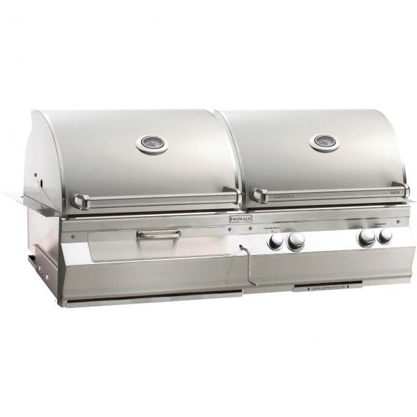 Fire Magic Aurora A830 Built-In Dual Gas and Charcoal Grill