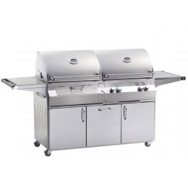 Fire Magic Aurora A830S Freestanding Dual Gas and Charcoal Grill