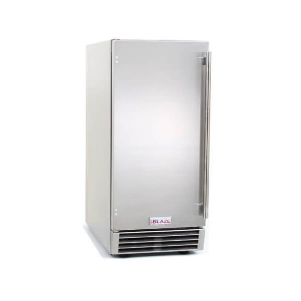 Blaze Outdoor Ice Maker With Gravity Drain Back