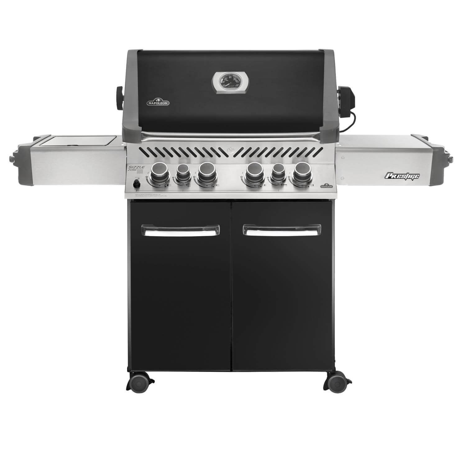 napoleon prestige 500 freestanding gas grill with infrared. Black Bedroom Furniture Sets. Home Design Ideas