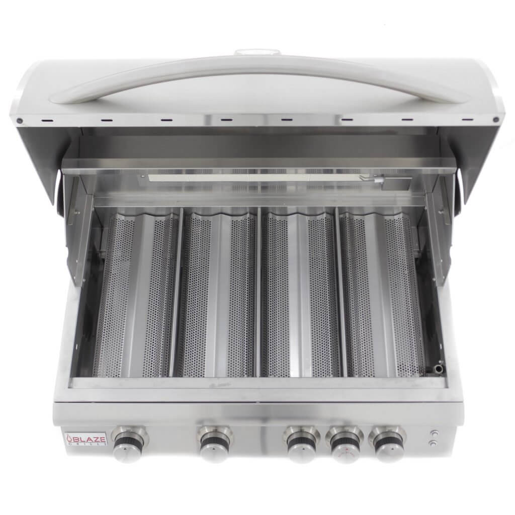 Blaze Lte 32 4 Burner Grill With Lighting System Bbq