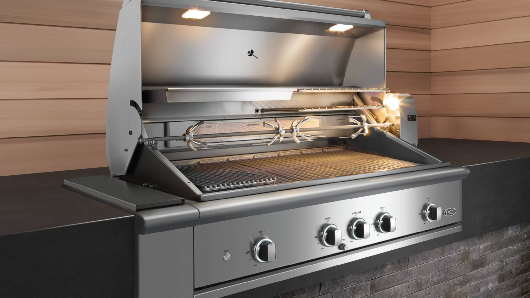 Dcs Evolution 36 Built In Grill With Rotisserie Bbq
