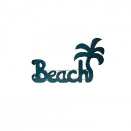 beach-metal-outdoor-sign