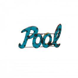 Pool-Metal-Sign