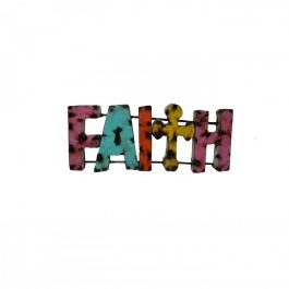 Faith-metal-sign