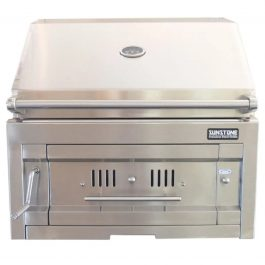Sunstone Stainless Charcoal Grill