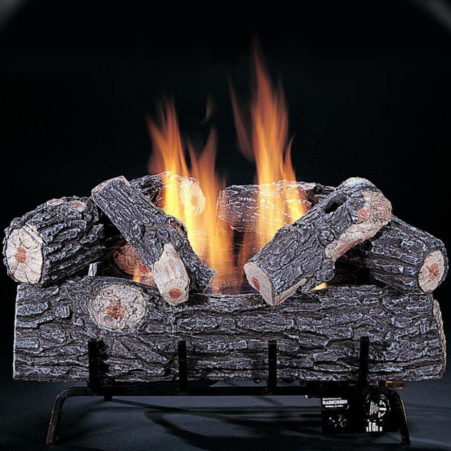 Rasmussen Chillbuster Vent Free Gas Log Set Bbq Grill People